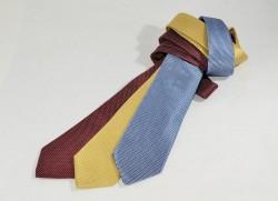 Cravatte di produzione artigianale in seta fantasia