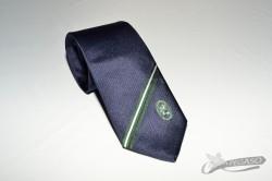 Cravatta promozionale con logo in trama