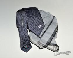 Cravatta e foulard promozionale GYS